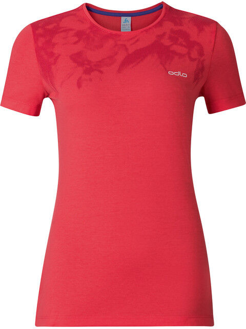 Odlo Signo - T-shirt manches courtes Femme - rouge